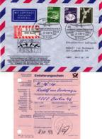 """(Bu-B1) BRD Sonder-Umschlag """"LUFTBRÜCKE BERLIN"""" MiF BRD  SSt 23.6.1988 BONN 1 - BRD"""