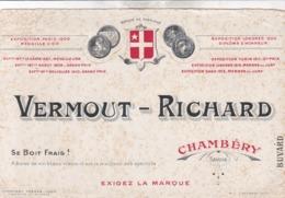 BUVARD / VERMOUT RICHARD CHAMBERY - Liqueur & Bière