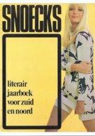 SNOECKS 1969 - L.P. BOON MIES BOUWMAN DALI 2 X ILLUSTR. PIL + ZENNER NAAKT LITERATUUR FILM ... - Cultura