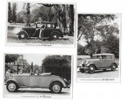 Peugeot 301     3 Modèles Différents - Voitures De Tourisme