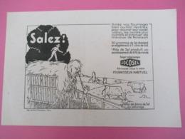 Salez Vos Fourrages Bien Ou Mal Rentrés Pour Assurer Leur Conservation/SOCOSEL//Louvion Péquereau/Vers1950       BUV446 - Agriculture