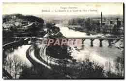 CPA Epinal La Moselle Et Le Canal De L&#39Est A Golbey - Epinal
