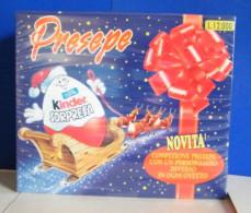 MONDOSORPRESA, FERRERO DIORAMA PRESEPE 1997, COMPLETO NUOVO IMBALLATO, MAI APERTO - Famiglie