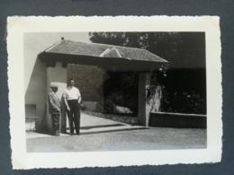 SEMOIS ÉGLISE SAINTE WALBURGE VILLAGE CHINY HÔTEL BELLE VUE LOT 4 PHOTO ORIGINALE  + 1 CARTE POSTALE BELGIQUE - Chiny