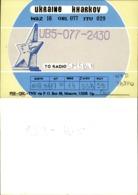Soviet Union, USSR, Russia - 10 QSL Cards, Radio Amateur - Radio Amatoriale