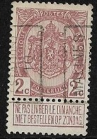 Malines Mechelen Station 1910 Nr. 1539A - Voorafgestempeld