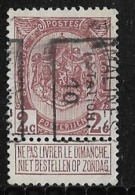 Malines Mechelen Station 1910 Nr. 1539B - Voorafgestempeld