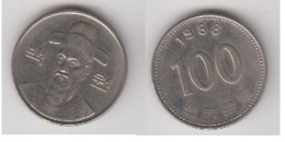 CORREE DU SUD - 100 WON 1988 - Korea (Zuid)