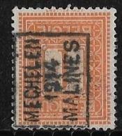 Malines Mechelen 1914 Nr. 2302Azz - Precancels