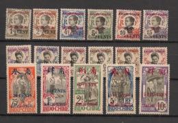 Kouang Tchéou - 1919 - N°Yv. 35 à 51 - Série Complète - Neuf * / MH VF - Unused Stamps
