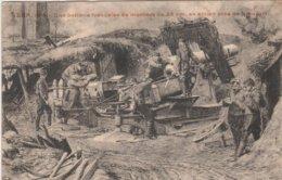 Yser 1914 Une Batterie Francaise De Mortiers De 28cm - 1914-18