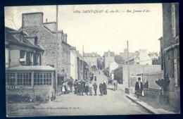 Cpa Du 22  Saint Quay Portrieux  Rue Jeanne D' Arc   LZ65 - Saint-Quay-Portrieux