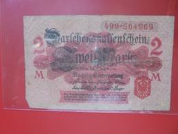 Darlehnskassenschein :2 MARK 1914 CIRCULER (B.8) - 1871-1918: Deutsches Kaiserreich
