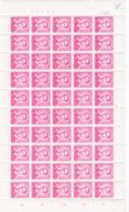 LIQUIDATION FEUILLE N° 1069 ** / MNH ROI BAUDOUIN  N° PLANCHE 1/2/3/4 Depart 8,90 / Feuille - Full Sheets