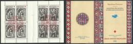CARNET CROIX ROUGE DE 1961 OBLITERE CROIX- ROUGE ET LA POSTE- BOURGES - Croix Rouge