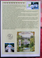 FRANCE - NOTICES PERSO - NOT 023 - 2012 - PJ YT F4663 - JARDINS DE FRANCE - PARC DE ST CLOUD - Andere