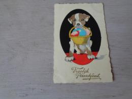 Chien ( 416 )  Hond   -  Illustrateur  ???? - Chiens
