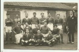 Cpa  MOULINS , équipe De Rugby - ( Carte Photo ) 04 - Moulins