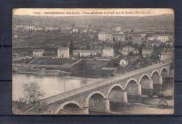 43. Retournac. Vue Générale Et Pont Sur La Loire. état Moyen - Retournac