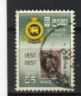 CEYLAN - Y&T N° 312° - Centenaire Du Timbre Cinghalais - Sri Lanka (Ceylon) (1948-...)