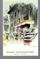 REF 422 : CPSM Etats Unis New York The Gotham - Manhattan