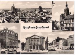 Stralsund - Rathaus - Theater - Am Frankenwall - Am Alten Markt /P02/ - Stralsund