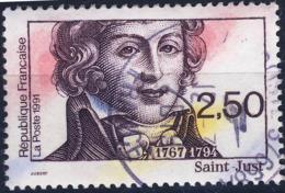 2703  SAINT JUST OBLITERE ANNEE 1991 - Frankreich