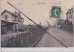 Fougères (35) La Gare Du Tramway - Fougeres