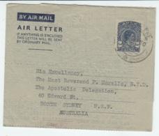 Aerogramma Aden 1950 Per L'Australia - Stamps