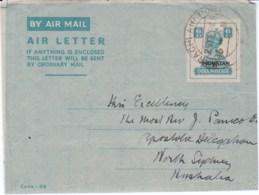 Aerogramma Pakistan 1948 Per L'Australia - Stamps
