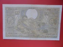 BELGIQUE 100 FRANCS 1934 CIRCULER (B.8) - [ 2] 1831-... : Regno Del Belgio