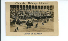 S159 - CHROMO CHOCOLAT DELESPAUL HAVEZ - CORRIDA - COURSE DE TAUREAUX - Chocolate