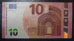 10 Euro U008D2 France Serie UB Charge 17  Draghi Perfect UNC - 10 Euro