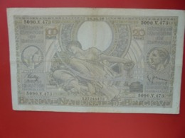 BELGIQUE 100 FRANCS 1938 CIRCULER (B.8) - 100 Franchi & 100 Franchi-20 Belgas