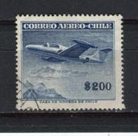 "CHILI - Y&T Poste Aérienne N° 161° - Avion - Northrop ""Scorpion"" - Chili"