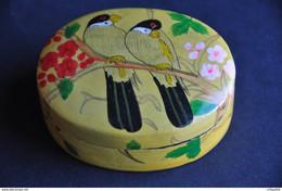 BOITE DECOR OISEAUX - Art Asiatique