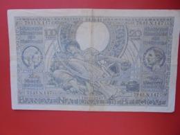 BELGIQUE 100 FRANCS 1941 CIRCULER (B.8) - [ 3] Duitse Bezetting Van België