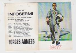 Calendrier Infosermi 1967 - Documents