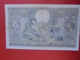 BELGIQUE 100 FRANCS 1942 CIRCULER (B.8) - 100 Frank