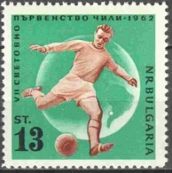 WM62 BULGARIE SPORT Coupe Du Monde FOOTBALL Neuf** MNH - Football