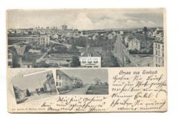 Gruss Aus Seebach, Zurich - 1904 Used Switzerland Multiview Postcard - ZH Zurich