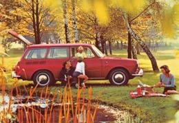 """09583 """"TORINO - PASTORINO CONCESSIONARIO AUTO - VOLKSWAGEN 1500 FAMILCAR"""" ANIMATA. CART  SPED 1963 - Pubblicitari"""