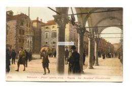 Dubrovnik, Ragusa - Placa (glavna Ulica), Der Stradone (hauptstrasse) - Old Croatia Postcard - Kroatië