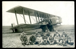 Cpa Carte Photo Bi Plan Avion Aviation  LZ113 - ....-1914: Précurseurs