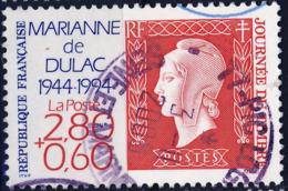 2863 50re MARIANNE De DULAC   OBLITERE ANNEE 1994 - Gebruikt