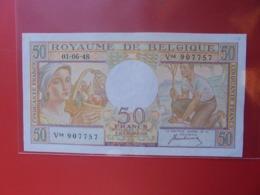 BELGIQUE 50 FRANCS 1948 CIRCULER (B.8) - 50 Francs