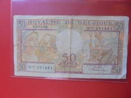 BELGIQUE 50 FRANCS 1956 CIRCULER (B.8) - 50 Francs