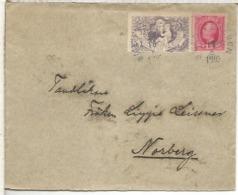 SUECIA CC CON VIÑETA TUBERCULOSIS MEDICINA ENFERMEDAD 1905 - Enfermedades