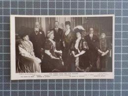 11.095) Royalty Monarquia D. Amélia Rainha Portugal THE THREE KINGS AND FIVE QUEENS AT WINDSOR 1907 - Familias Reales