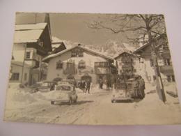 C.P.A.- Grand Format  -Autriche - Tyrol Tirol - Seefeld - Sous La Neige - Automobiles - 1961 - SUP (CS 57) - Seefeld